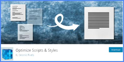 OPTIMIZE SCRIPTS & STYLES – Consigue que tu web cargue y abra mucho más rápido optimizando JavaScript y CSS plugin wordpress