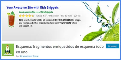 SCHEMA ALL IN ONE RICH SNIPPETS – Fragmentos enriquecidos para mejorar el CTR con este plugin wordpress gratis
